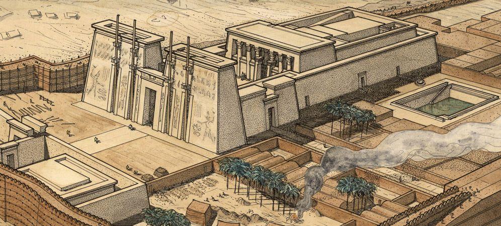 Temple d'Horus d'Edfou