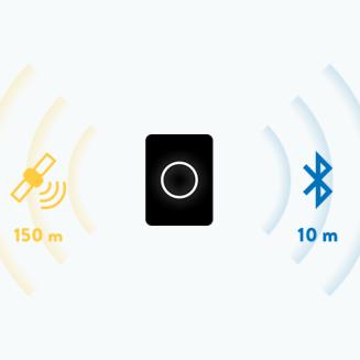 La serrure connectée Noki utilise la connexion Bluetooth de ton smartphone et la géolocalisation pour déverrouiller ou verrouiller la porte.