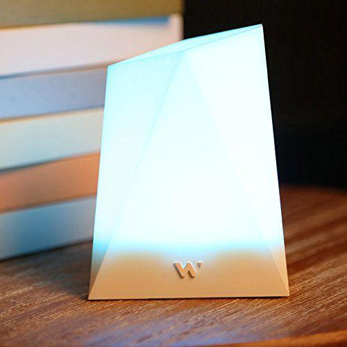 Lampe connectée Notti : elle vous signale toutes notifications