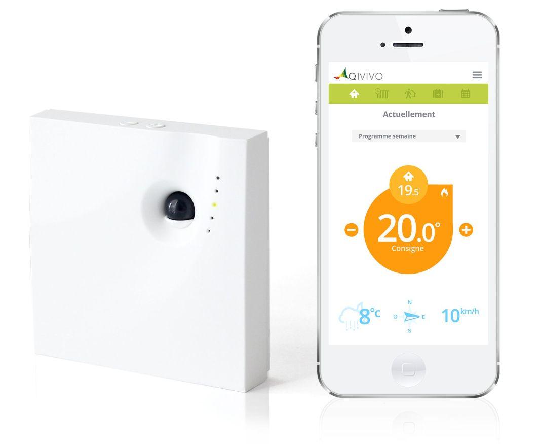 thermostat connecté smart Qivivo