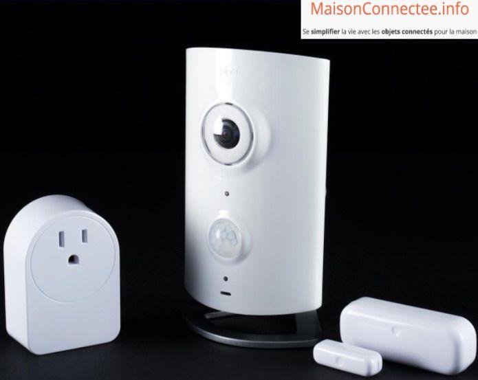 camera wifi piper classic zwave systeme domotique avec surveillance video