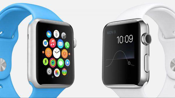Montre connectee sous iOS Apple Watch