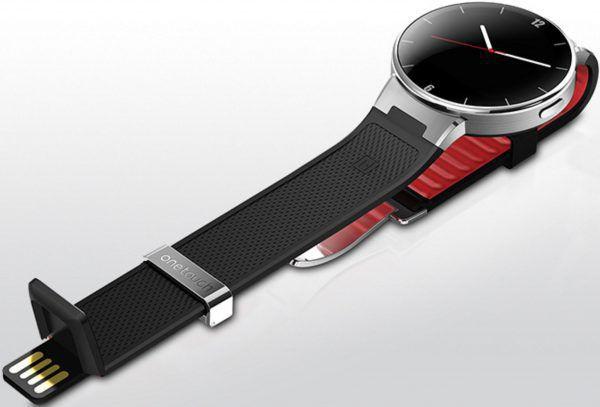 Montre connectee Alcatel One Touch Watch- connecteur usb