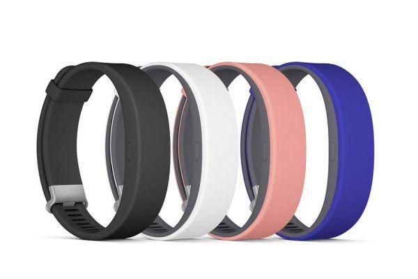 Les différents coloris de bracelets