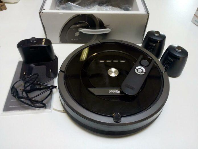 Aspirateur connecté iRobot Roomba 880 pack complet