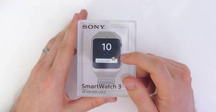 montre intelligente Sony SWR50