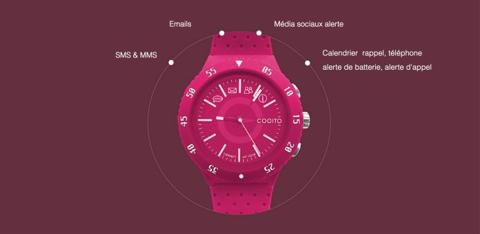 montre connectee cogito pop
