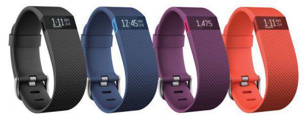 La Fitbit Charge HR, un bracelet connecté équipé d'un capteur de fréquences cardiaques et alimenté en énergie par une batterie