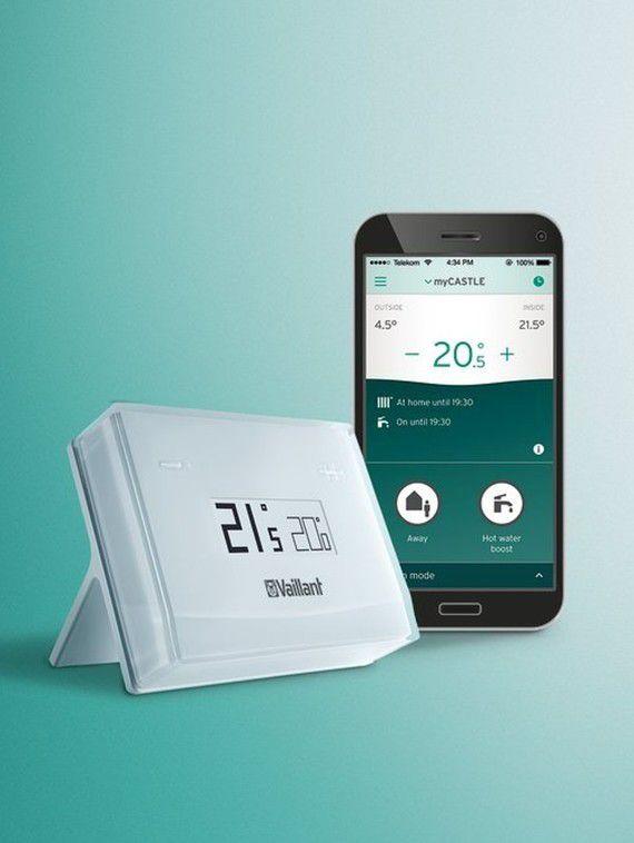 interface de l'application mobile et boîtier eRELAX