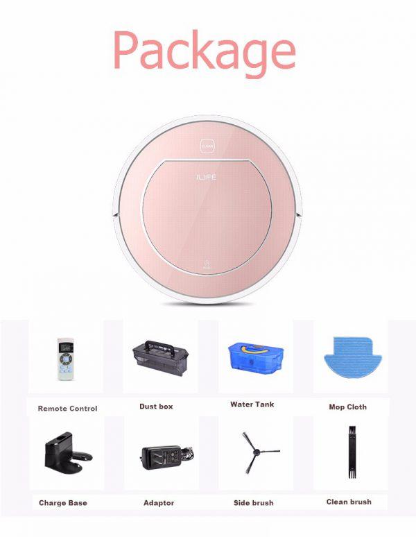 Les composantes du pack Chuwi iLife V7S Pro