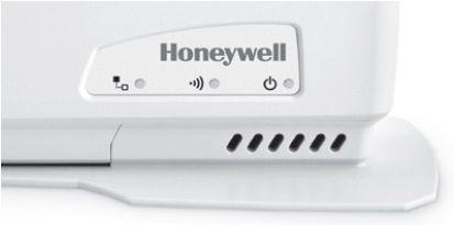 LEDs témoins de la passerelle de communication Internet du Honeywell Y87RF