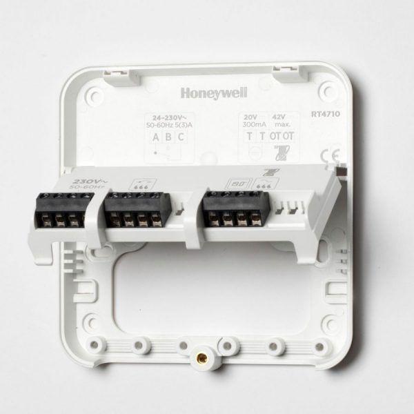 Intérieur du boîtier récepteur du Lyric T6 Honeywell
