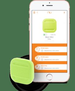 Application + bouton NIU