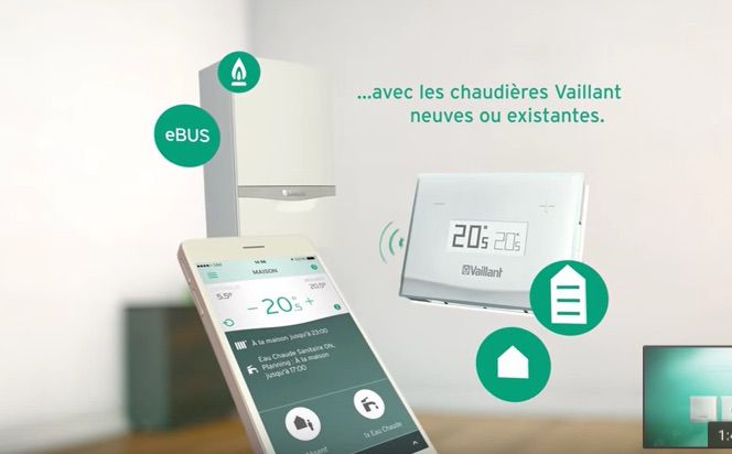 application eRELAX vaillant pour le regulateur connecte de chez Vaillant