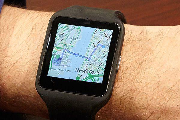 Fonction GPS de la montre