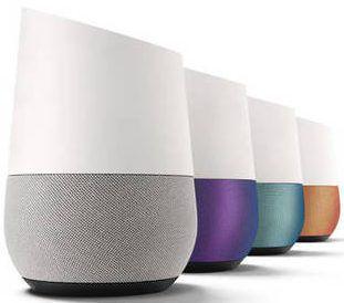 l'Assistant Google Home l'enceinte à commande vocale