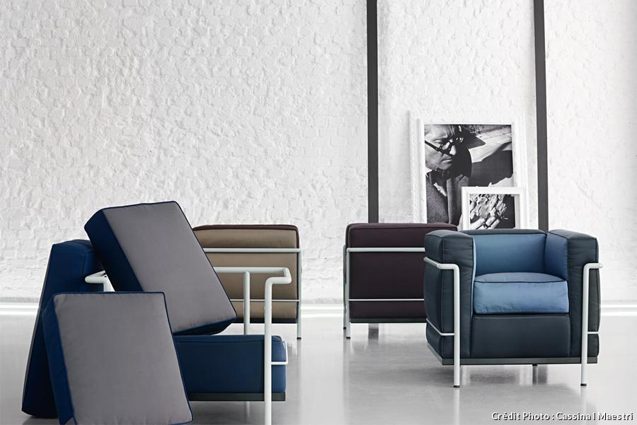 Meuble Le Corbusier Fauteil Lc2 Actus Maison Creative