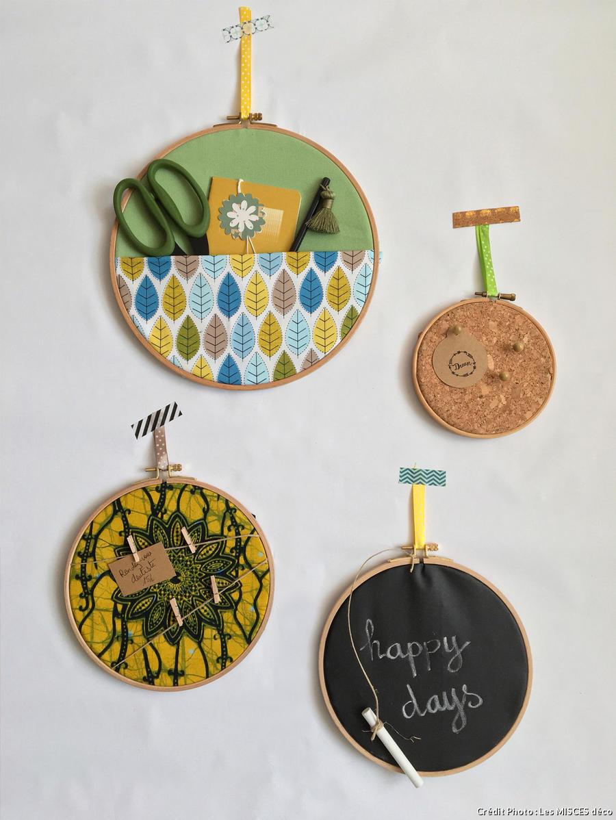 DIY Nos Tuto Et Crations En Tissu Pouf Vide Poche