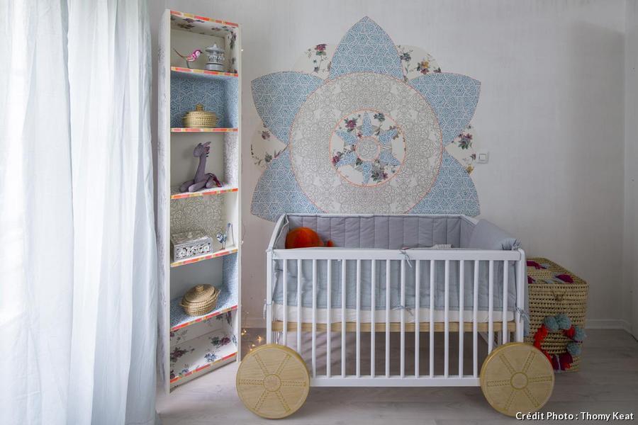 La chambre de bébé bohème