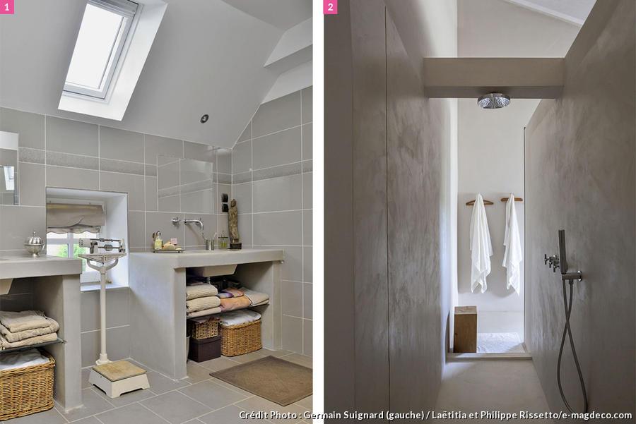 salle de bains mansardee