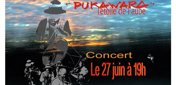 PUKAWARA en concert au Carreau du Temple le 27 juin à 19h