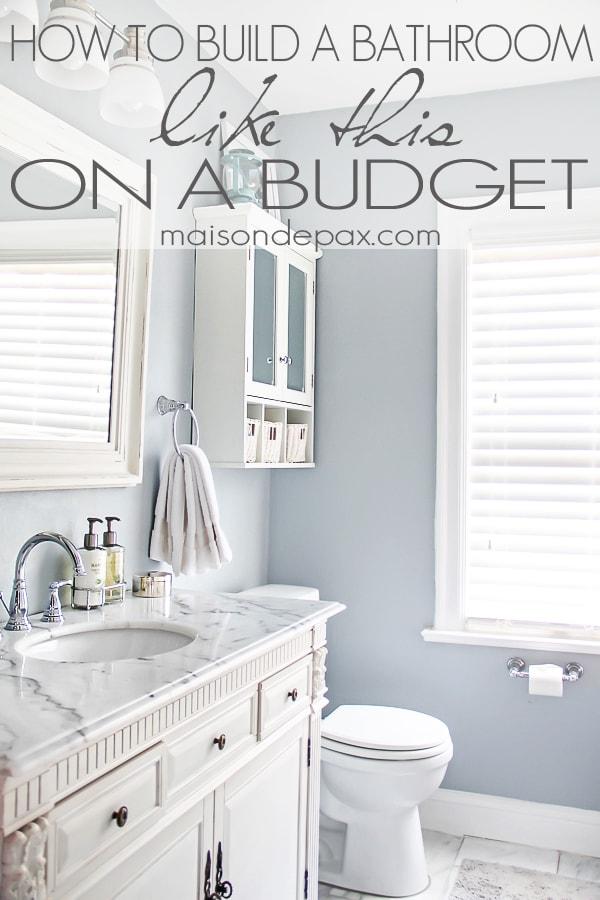 Bathroom Renovations Budget Tips on Bathroom Ideas On A Budget  id=12369