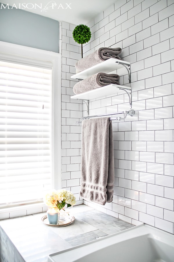 10 Tips for Designing a Small Bathroom - Maison de Pax on Simple:zvjxpw8Nmfo= Small Bathroom Ideas  id=72510