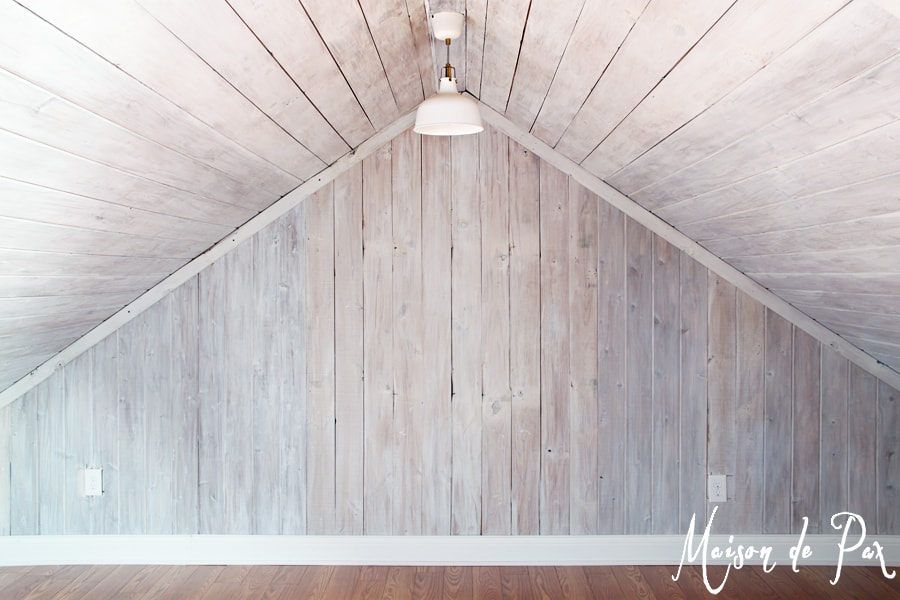 How to Whitewash Wood   Maison de Pax A clear tutorial and helpful tips on how to give wood a bright  beautiful  whitewash