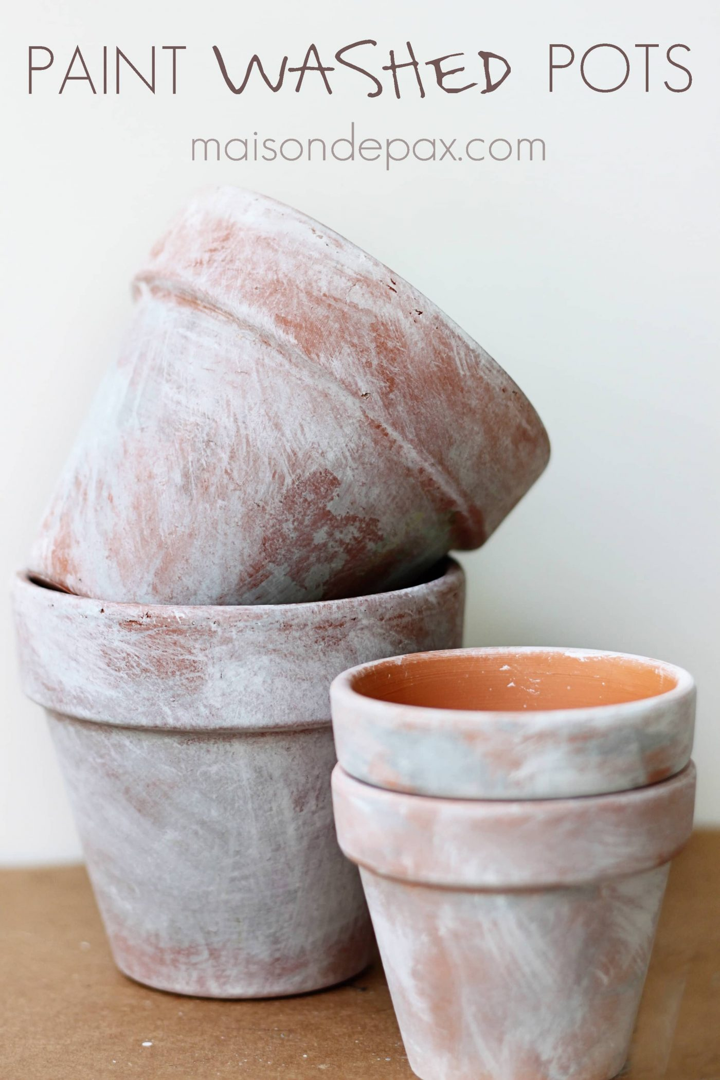 Used Terracotta Pots