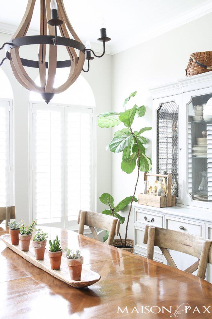 Simple Spring Dining Room Decorating Ideas - Maison de Pax