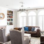 How To Decorate A Leather Sofa Maison De Pax