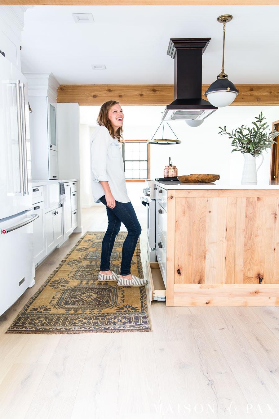 rustic modern kitchen cabinets maison