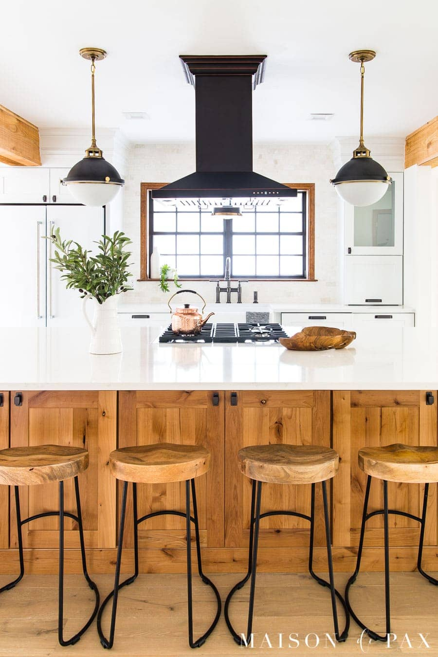 Rustic Modern Kitchen Cabinets - Maison de Pax on Modern Kitchens  id=90315
