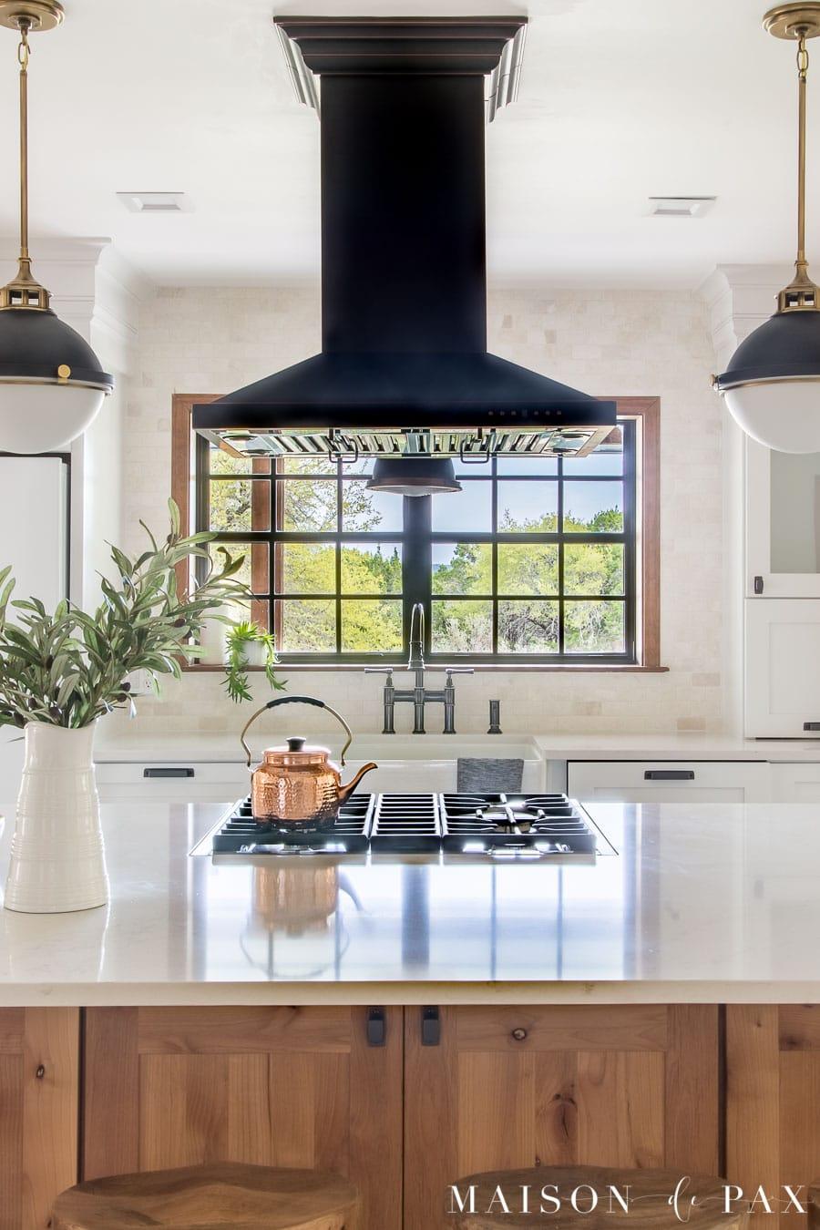 Rustic Modern Farmhouse Kitchen Reveal - Maison de Pax on Rustic Farmhouse Kitchen  id=68386
