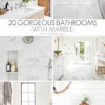 20 Beautiful Marble Bathrooms Maison De Pax