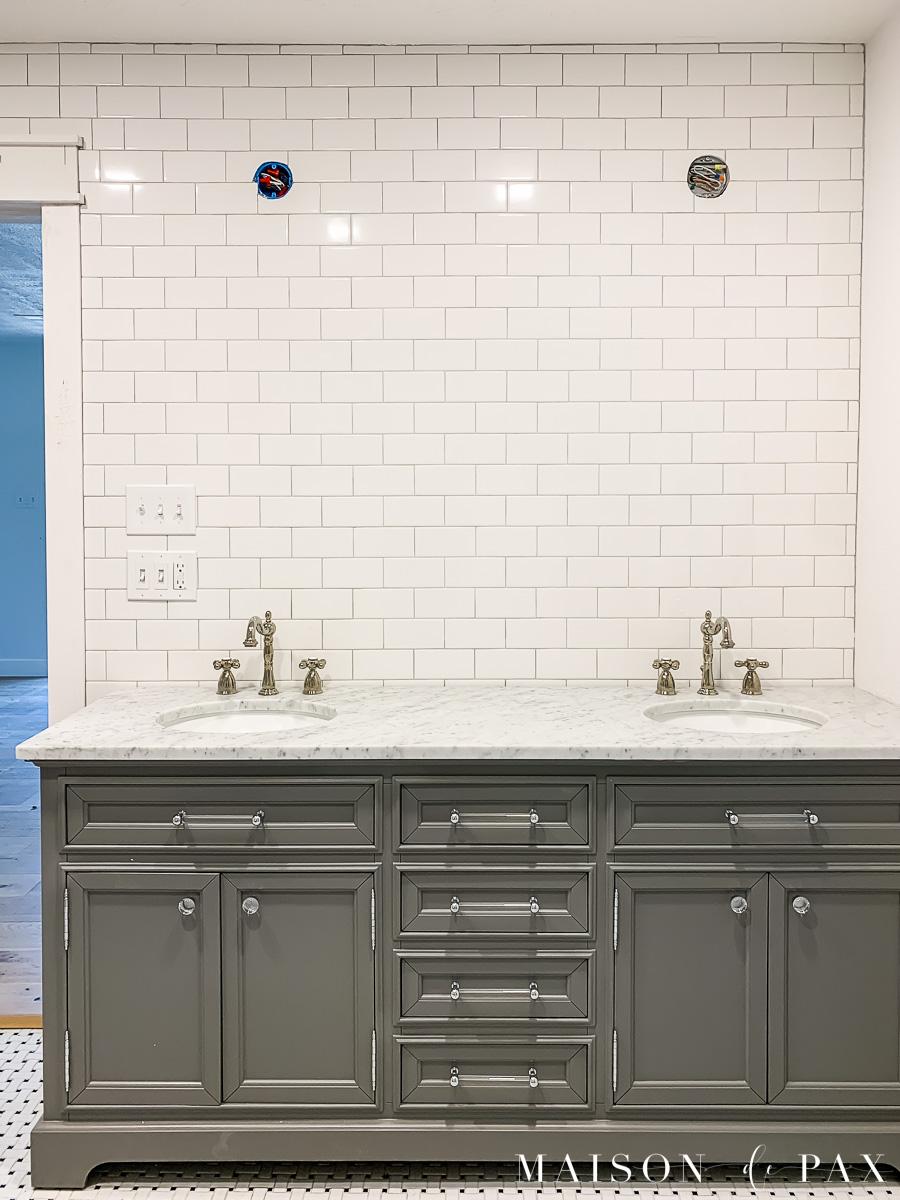 classic master bathroom design plans