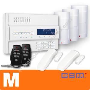 PACK ALARME SANS-FIL GSM (M) Blanc