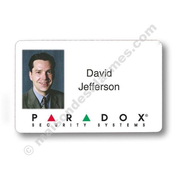 CARTE DE PROXIMITÉ ISO GLACÉE 2FACES PARADOX C706