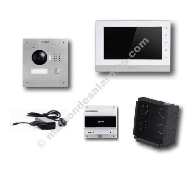 DAHUA VTKB-E - Kit interphonie vidéo IP