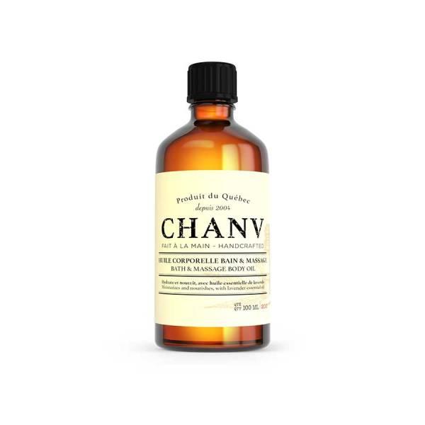 Huile corporelle bain et massage Chanv