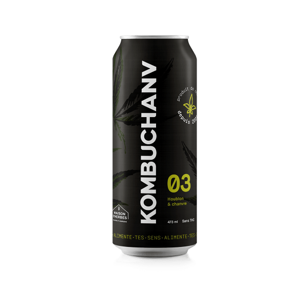 Kombuchanv 473 ml au houblon