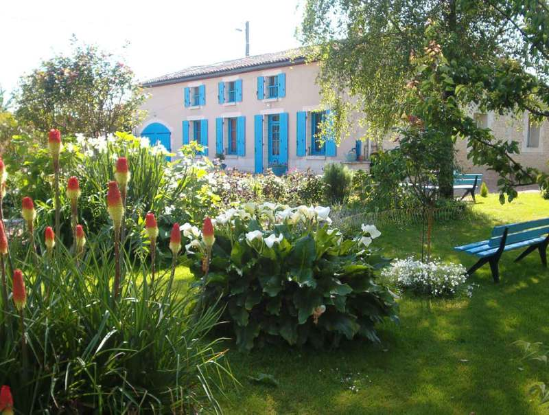 Vente Maison d'hôtes dans le Marais Poitevin (Cramchaban)