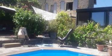 Maison d'hôtes et Gîte à vendre à 10 minutes des gorges du Tarn (Aveyron, Occitanie)