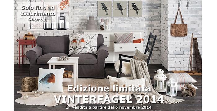 EDIZIONE LIMITATA VINTERFAGEL 2014 IKEA