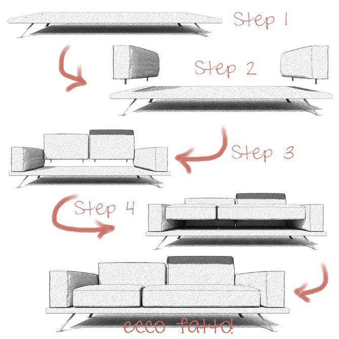configuratore divano