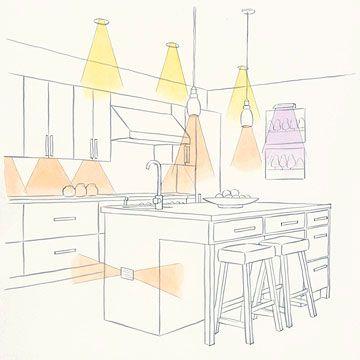 illuminare la cucina
