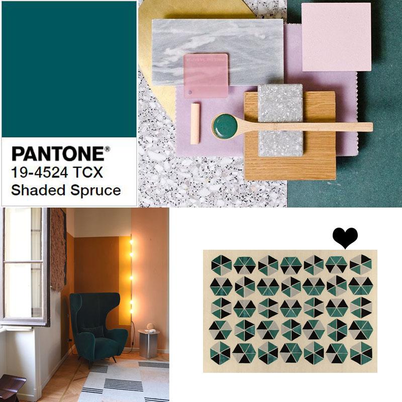 Verde-PANTONE 19-4524