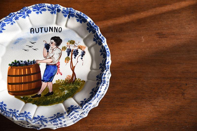 piatti in ceramica di bassano