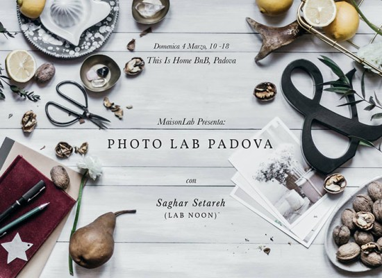 workshop fotografia padova Lab Noon Saghar Setareh