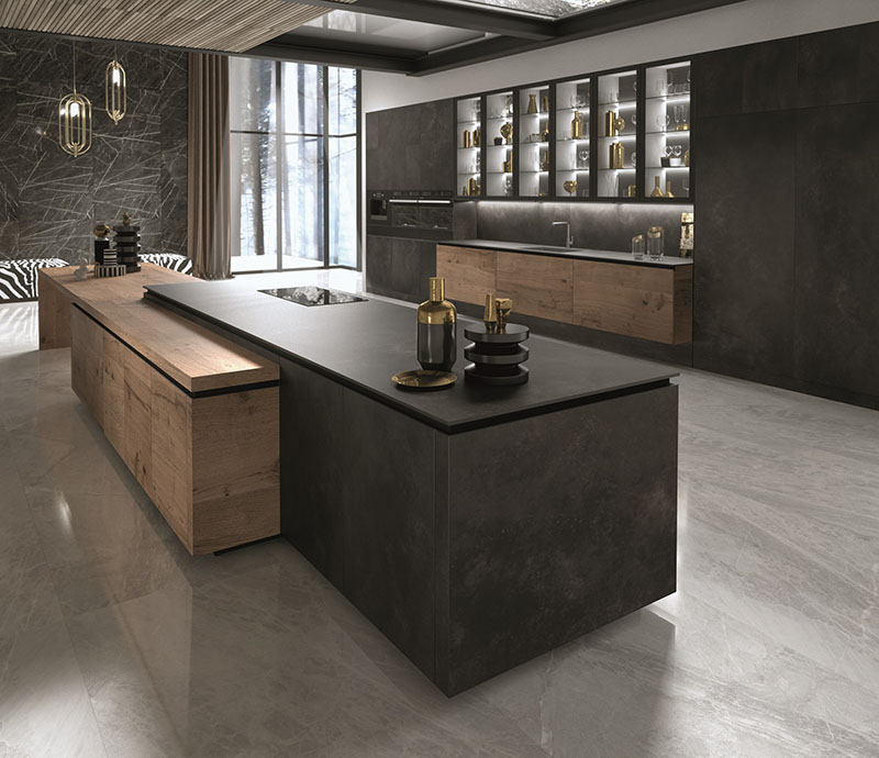 Cucine di design le novit eurocucina 2018 per snaidero maisonlab - Cucine di design ...